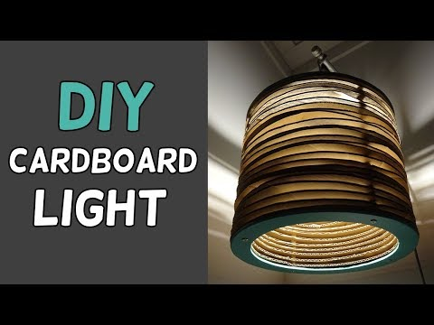 Simple DIY Cardboard Light!