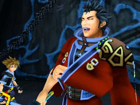 Kingdom Hearts II, English cutscene: 165 - Cerberus, Guard Dog of the Underworld - HD 720p