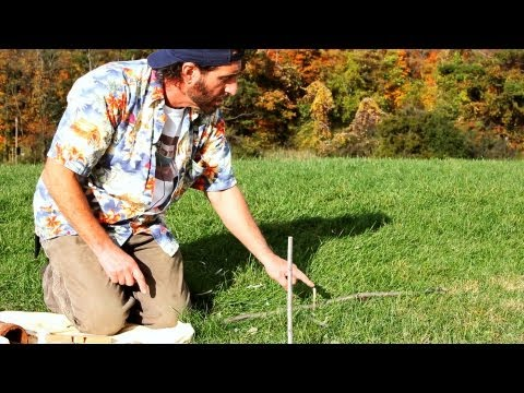 How to Tell Direction w/ Stick Shadows   Survival Skills