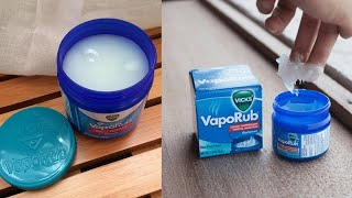 Vicks VapoRub 10 Surprising Uses You've Never Heard Of