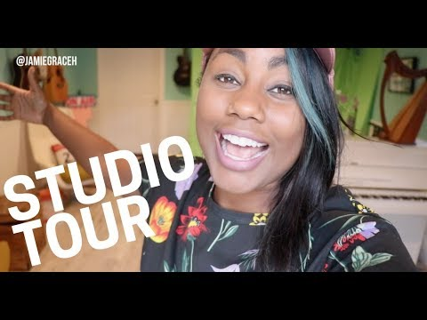 Tour of My Studio!! | Jamie Grace