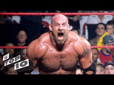 Xxx Mp4 Goldberg S Most Extreme Moments WWE Top 10 3gp Sex