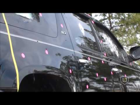 Ultra Armoring B6 Armored Suburban Testing