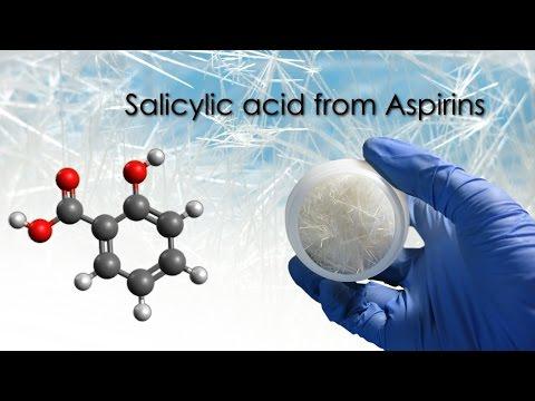How to make Salicylic Acid from Aspirin