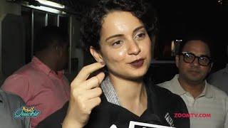 Kangana Ranaut on Sunaina Roshan controversy and Mental Hai Kya title change   Bolly Quickie
