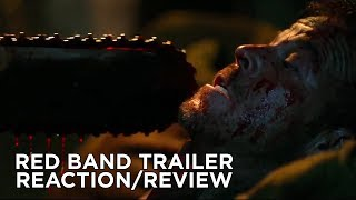 LEATHERFACE (2017) Red Band Trailer REACTION/REVIEW