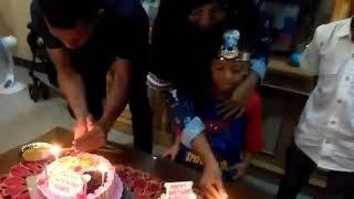 Ulang Tahun Hauzan Irhab Nabil Yang Ke 4.thn