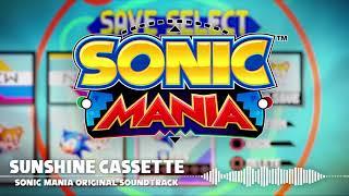Sonic Mania OST - Sunshine Cassette