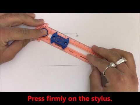 Constructions: Line segment congruent to a given line segment