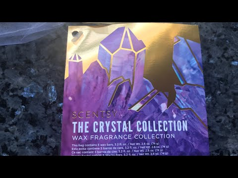💜 LIMITED  EDITION Scentsy Crystal Collection 🔮