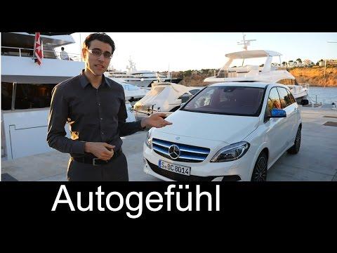 2015 all-new Mercedes B-Class Electric Drive MPV REVIEW test drive B-Klasse - Autogefühl