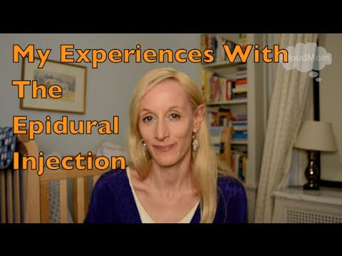My Experiences With The Epidural Injection | CloudMom