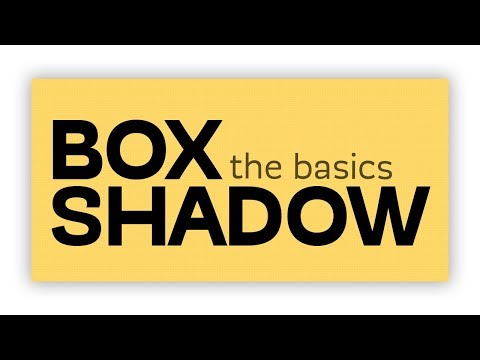 CSS Box-Shadow tutorial: the basics