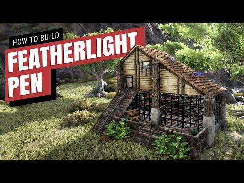 Featherlight Pen | Quick Build | Ark Survival