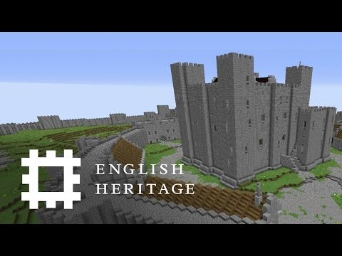 Minecraft Dover Castle Build Timelapse | Yogscast Let's Build
