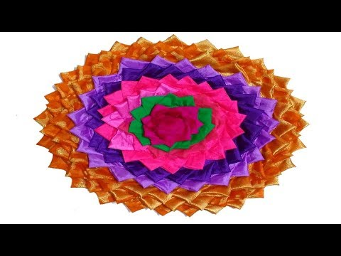 How to make doormats using waste clothes   doormat making idea easy doormat make at home using old s