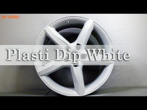 Plasti Dip White (over GunMetal Grey PDS) - how to paint rims