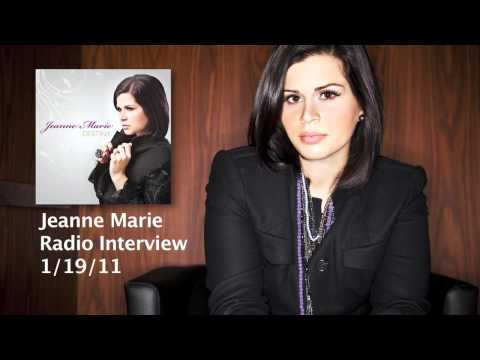 Radio Interview on Sirius - Female Christian Singer Jeanne Marie