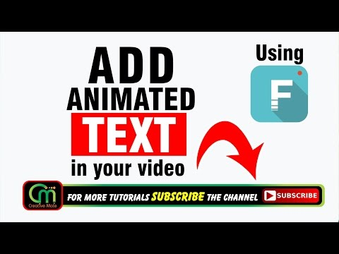 HOW TO ADD ANIMATED TEXT IN FILMORA FOR YOUTUBE VIDEO | MAKE SLIDING/SCROLLING TEXT | HINDI/URDU