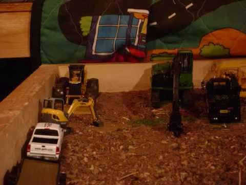 Logging Day 2 - Fitting Tracks for the Abandoned Deere Dozer *Stopmotion*