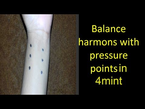 Pressure Point To Balance Hormones In 4mint | How To Balance Hormones At Home