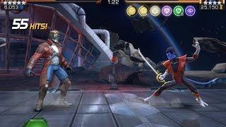 Complete Alliance War Run and Nightcrawler Boss Battle | Marvel Contest of Champions