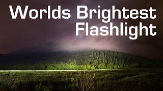 1000W LED Flashlight - Worlds Brightest (90,000 Lumens)