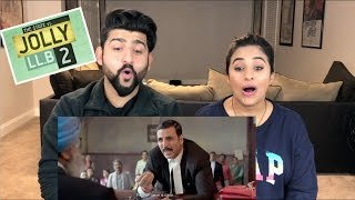 Jolly LL.B 2 Trailer Reaction | Akshay Kumar, Huma Qureshi | Jolly A Gaya!!