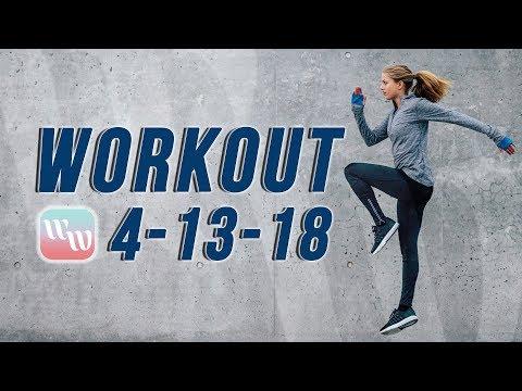 Workout 4-13-18
