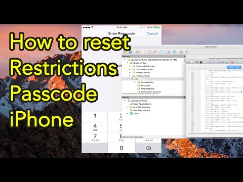 How to reset Restrictions Passcode iPhone - 2016