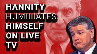 Sean Hannity BRUTALIZED on Live TV Over His Lies