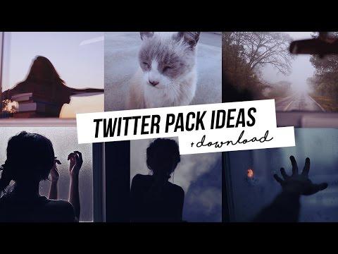 Twitter Pack [ icons + headers + bio ideas ]