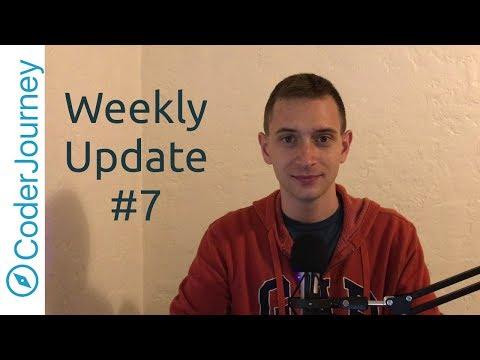 Weekly Update #7 - Bouncing Back