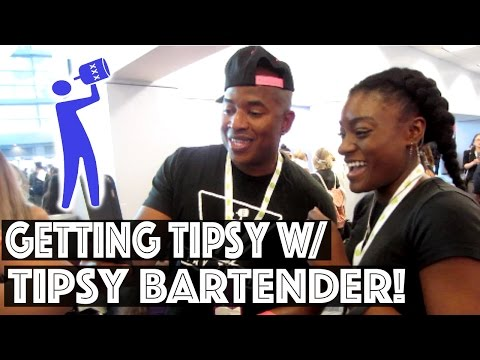 #4   I got my arm TATTOOED?! Getting Tipsy with Tipsy Bartender