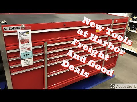 New Products At Harbor Freight and Good Deals!