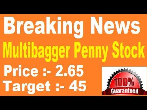Multibagger PENNY STOCK = 5000% Profit     best stock for 2018