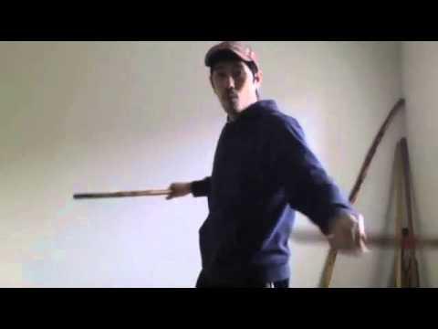 eskrima arm weaving double stick new move