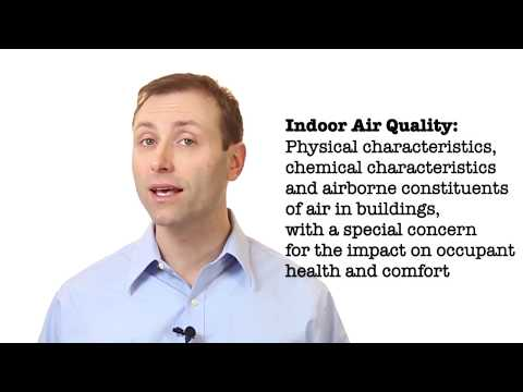 Defining Indoor Air Quality