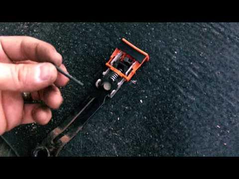Seat belt buckle repair