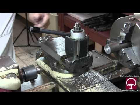 How To Make a Wheel Dresser For An O.D. Grinder Pt. 2 (using a lathe and a Bridgeport)