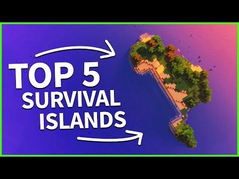 Minecraft 1.12 - TOP 5 SURVIVAL ISLAND SEEDS 2018 - Best Minecraft Java Seeds
