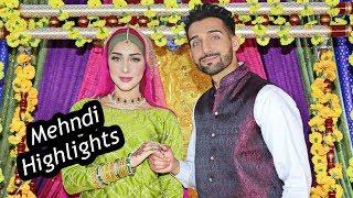 SHAM & SAHER | Official Mehndi Highlights