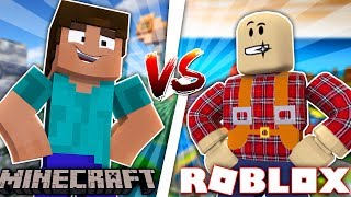 Minecraft ROBLOX VS MINECRAFT - WHAT GAME DO YOU PREFER???? - Donut the Dog Minecraft Roleplay