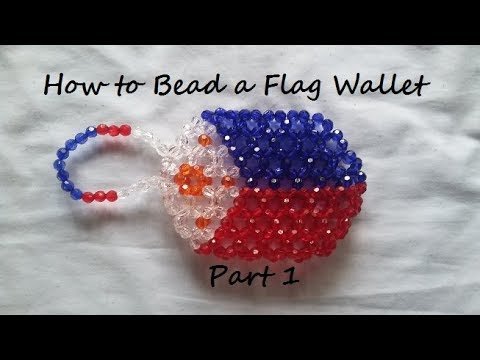How to Bead a Flag Wallet Part 1