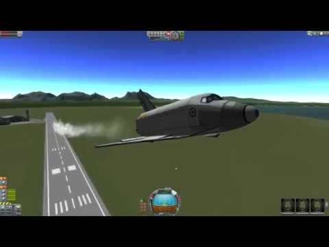 Kerbal Space Program - Space Shuttle Aerodynamics
