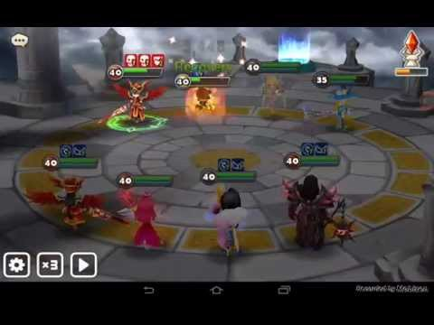 Summoner's War: Sky Arena - Fight aggainst my friend Daila on arena