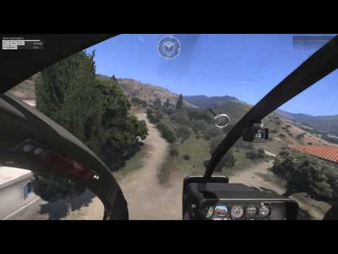 Arma 3 Flight School - Rotary 101 - 2 - How To Fly your Helicopter