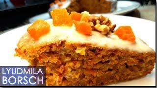 Самый вкусный МОРКОВНЫЙ пирог. ПРОСТОЙ рецепт