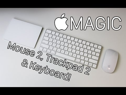Apple Magic Mouse and Keyboard  - How To Check Percentage and Battery Life with Bluetooth | 2016