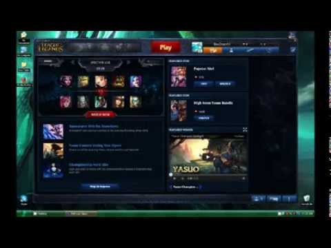 League of Legends RP hack Season 4 patch4.1 2014 All bugs are fixed!!!